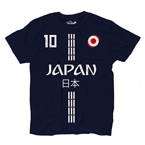 KiarenzaFD Camiseta Camiseta Fútbol Selección Kagawa Japón 10 Streetwear  Hombre 422fa0e8fb8e2