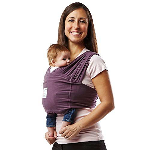Baby K'Tan Cotton Egg Plant Baby Carrier (Medium)  Baby K'Tan