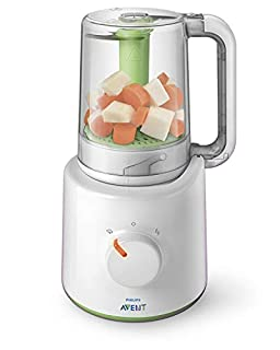 Philips Avent SCF870/20 - Procesador de alimentos para bebés 2 en 1, color blanco y verde (B005IZGT02) | Amazon price tracker / tracking, Amazon price history charts, Amazon price watches, Amazon price drop alerts