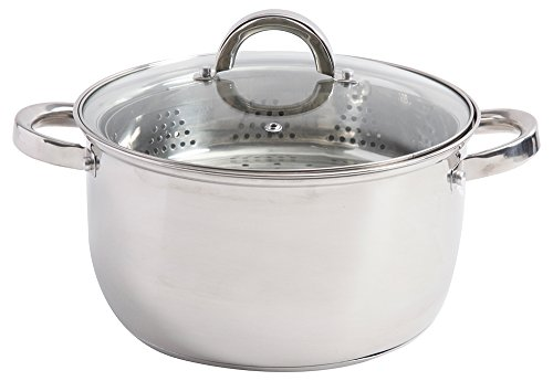 Oster Cookware Set, Stainless Steel, 6 Quart