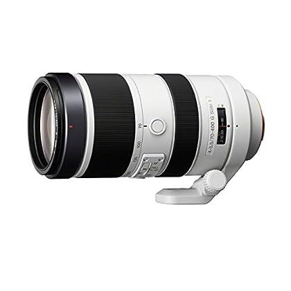 Sony 70-400mm f/4-5.6G SSM - Objetivo para Sony (distancia focal 70-400mm, apertura f/4-32, zoom óptico 5.71x,diámetro: 77mm) blanco
