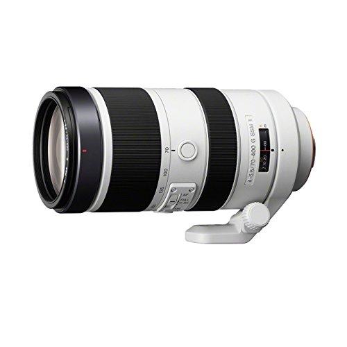 Sony SAL70400G2, Tele-Zoom-Objektiv (70-400 mm, F4–5,6 G SSM II, A-Mount Vollformat, geeignet für A99 Serie) - A33 Kamera Sony