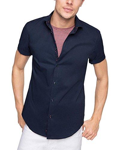 ESPRIT Collection Herren Slim Fit Business Hemd mit Stretch, Gr. Kragenweite: 35 cm (Herst Preisvergleich