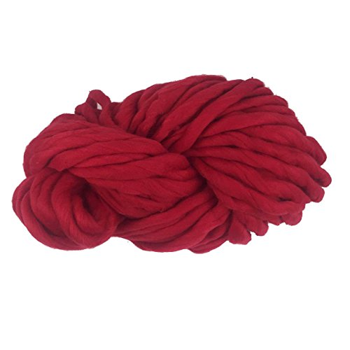 Orfila chunky dickes Acrylgarn Handstrickgarn, bunte Häkelgarne aus acryl zum Strick-Projekt wie Snood Sweatshirt Schal Haustierbett Decke, 25m und 250g pro Farbe - Alle Arten von Strickwaren herstell (Acryl-decke Stricken)