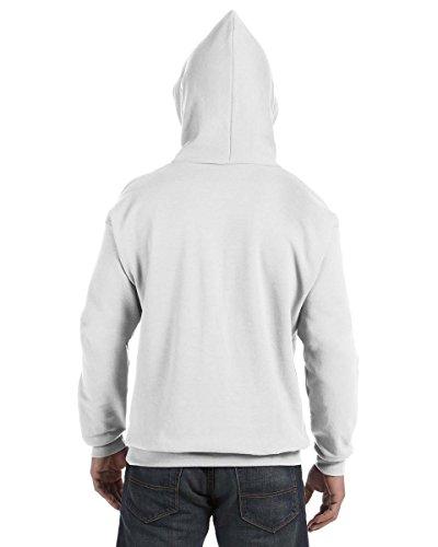 Hanes Comfortblend EcoSmart Pullover Hoodie Sweatshirt Weiß