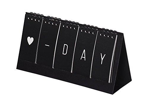 der zum Aufstellen, ewiger Kalender, modernes und schlichtes Design ()