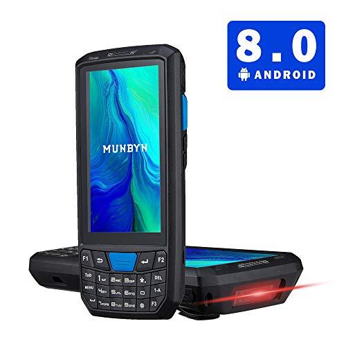 【Android 8.0】NFC 3G 4G PDA 5,0 pouces Terminal avec écran tactile Bluetooth et scanner de codes à barres Honeywell pour 1D 2D PDF417