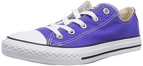 Converse Chuck Taylor All Star 2V Ox - Zapatillas de deporte de canvas para niño Morado Violet (Violet/Framboise) 20 G65TzU