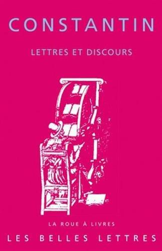Lettres et discours