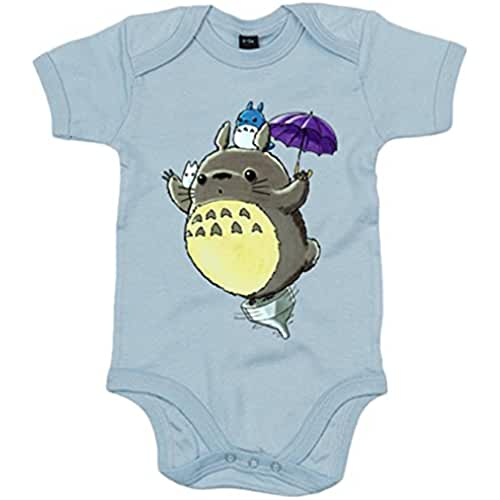 ropa primavera kawaii Body bebé Chibi Kawaii Fly Totoro parodia