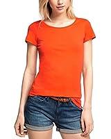 edc by ESPRIT Women's Basic T-Shirt
