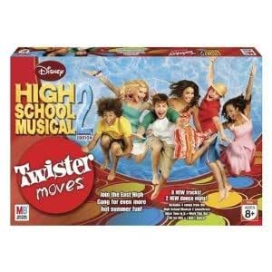 Twister Moves High School Musical 2 Includes 4 Songs And Dance Tracks From HSM 2 Soundtrack Jouets, Jeux, Enfant, Peu, Nourrisson