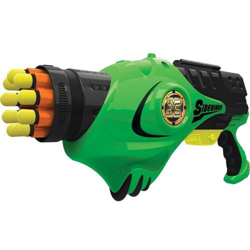 Green X-shot Siderwinder Gun - pistola aria compressa