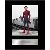 TOM Holland Signiert Foto Display Spider-Man # 01