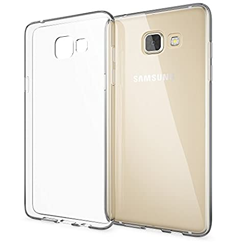 Samsung Galaxy A5 2016 Coque Protection de NICA, Housse Silicone Portable Premium Case Cover Ultra-Fine Transparente, Cristal Clair Anti-Choc Souple Mince Gel Bumper Etui pour Telephone A5-2016 Phone