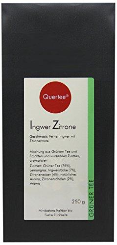 Quertee Grüner Tee - Ingwer Zitrone - 250 g, 1er Pack (1 x 250 g)