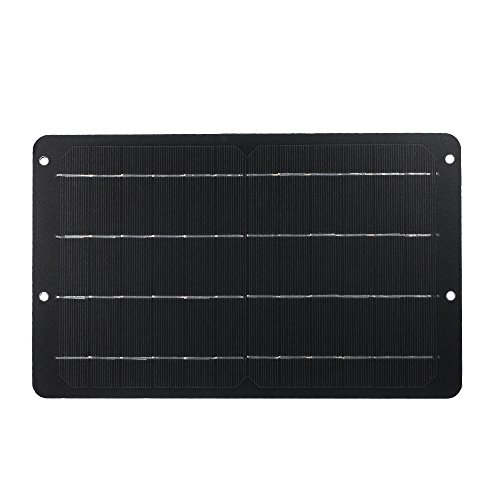 Descripción: Un panel solar es un dispositivo que convierte la radiación solar directa o indirectamente en energía eléctrica al absorber la luz solar. En comparación con las baterías ordinarias y las recargables, los paneles solares ahorran más energ...