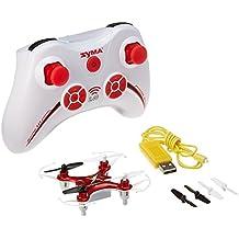 Syma X12 Mini Nano 6-Axis Gyro 4 Channel RC Quadcopter (RED)