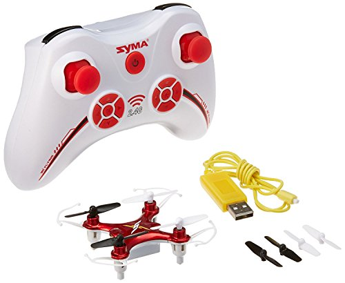 Syma X12 Mini Nano 6-Axis Gyro 4 Gutter RC Quadcopter (RED)