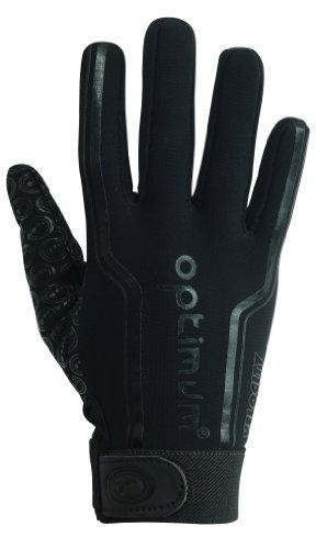 optimum-velocity-full-finger-boys-glove-black-plain-black-mini-4-5-inch