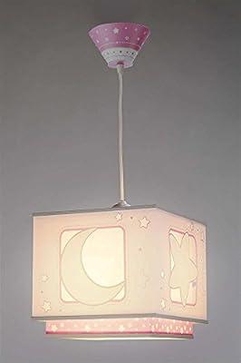 Moon Light Hängeleuchte 63232s Mond Licht rosa rot Lampe Kinderzimmer Leuchte Kinderzimmerlampe