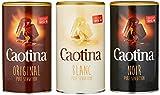 Caotina set de 3, original, noir, blanc, Poudre de Cacao avec du...