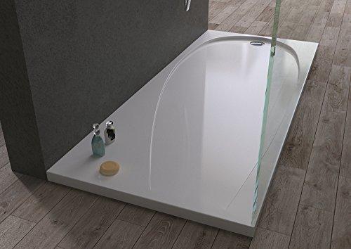 Piatto doccia rettangolare in acrilico extra-rinforzato