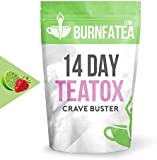 Burnfatea 14 Day Crave Buster Teatox, Strawberry Lime  -14 Pouches/Pack