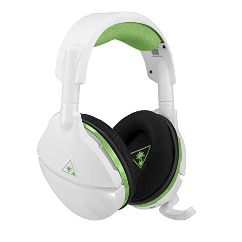 Turtle Beach Stealth 600 Weiß Kabellos Surround Sound Gaming-Headset - Kompatibel mit Xbox Series X und Xbox One