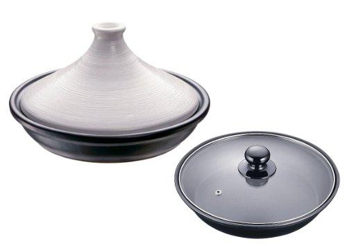 3002-ATZ0401-Ishigaki-golpe-Deere-IH-pote-tajine-con-tapa-de-vidrio-Blanco-19cm-Japn-importacin-El-paquete-y-el-manual-estn-escritos-en-japons