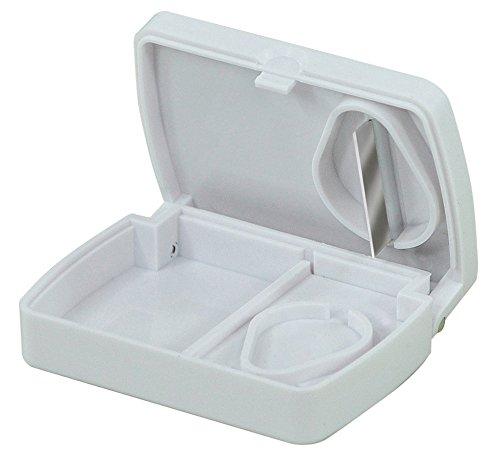 Aidapt VM925A Box zur Pillenaufbewahrung mit Tablettenzerteiler
