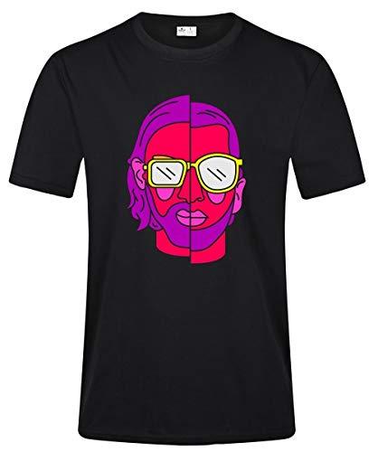 PNL Le Monde Chico Rap T Shirt Mens Fashion Casual 100% Cotton T Shirts for Men (Rap-t-shirts)