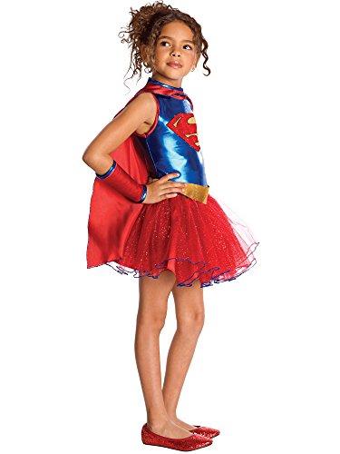 girl Tutu Kinderkost-m Small - 4-6X (Supergirl Tutu Kind Kostüme)
