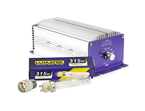 Price comparison product image Lumatek 315w CMH Ceramic Metal Halide Dimmable Ballast & Bulb