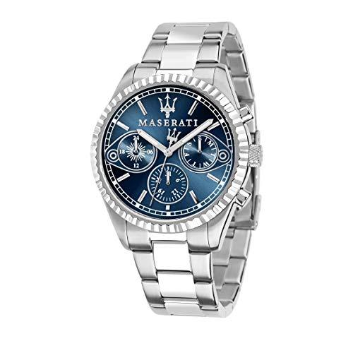 Orologio da uomo, collezione competizione, movimento al quarzo, multifunzione, in acciaio - r8853100013