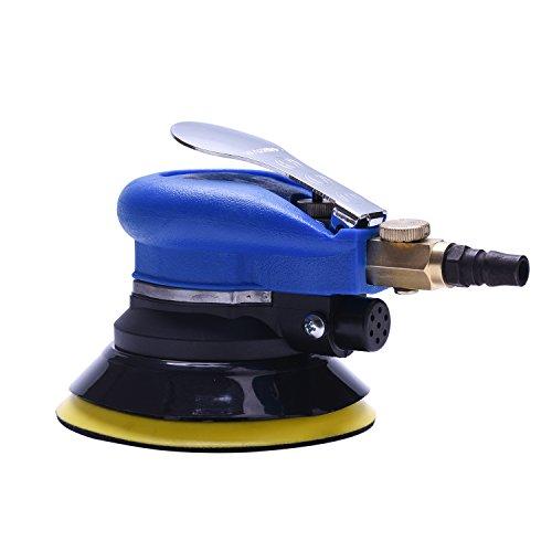 Hochwertige Exzenterschleifer Druckluft 125mm, Polierer Schleifmaschine Multischleifer Mini
