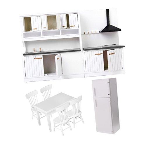 D DOLITY 1 / 12scale Dollhouse Muebles De Cocina En