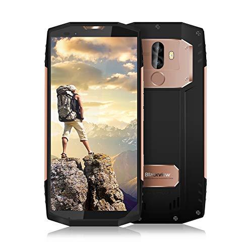 Blackview BV9000 Robustes Handy,IP68 wasserfest Outdoor Smartphone Ohne Vertrag,5.5 Zoll HD+ Touch Screen Dual SIM Smartphone,4GB RAM + 64GB ROM,13MP+5MP Dual-Kameras,4180mAh Battrie 12V 2A Schnellladung mit Fingerabdruck Sensor, NFC, Compass + GPS