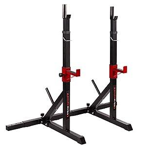 Ultrasport Hantelständer / Hantelablage aus pulverbeschichtetem Stahl, belastbar bis 200 kg
