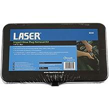 Laser 6035 - Kit de herramientas para la extracción de bujías de precalentamiento mediante impacto, 9 unidades