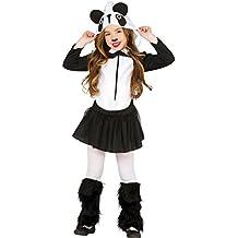 Guirca - Disfraz oso panda, Talla 10-12 años (83251.0)