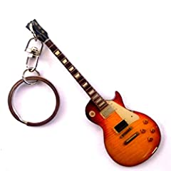 Idea Regalo - Portachiavi in metallo - Led Zeppeling Jimi Page - GIBSON LES PAUL CUSTOM