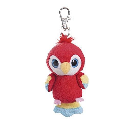 YooHoo & Friends - Scarlet Macaw, Peluche con mosquetón, 8 cm, Color...