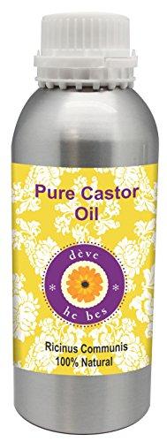 Preisvergleich Produktbild Pure Castor Oil 300ml (Ricinus communis) 100% Natural Cold pressed & Therapeutic Grade