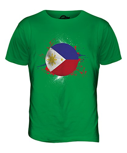 CandyMix Philippinen Fußball Herren T Shirt Grün