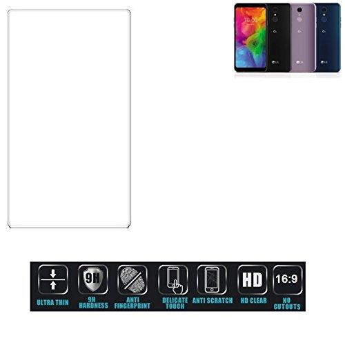 Für LG Electronics Q7 Alfa Schutzglas Glas Schutzfolie Glasfolie Bildschirmschutzfolie Bildschirmschutz Hartglas Tempered Glass Verb&glas für LG Electronics Q7 Alfa 16:9 Format, bedeckt nicht die S
