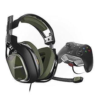 ASTRO Gaming A40 TR Headset (kabelgebunden) mit am Controller angebrachtem MixAmp M80 Adapter für Xbox One, grün/Schwarz