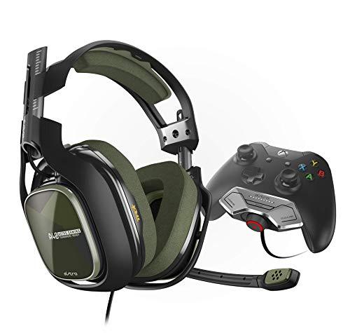 ASTROGamingA40TR (3. Generation) Headset (kabelgebunden) (mit am Controller angebrachtem MixAmpM80 Adapter für XboxOne) grün/schwarz (Pokemon-stecker)