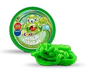 CRAZE Magic Dough Alien Juego Inteligente Masilla 80 g Masilla Veneno Verde 15421