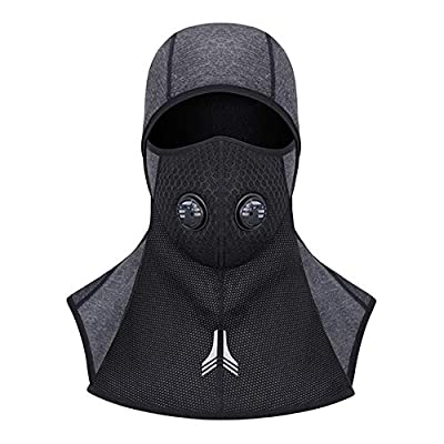 Laxus Balaclava Face Masks, Windproof Breathable Ski Full Face Mask for Cycling Sports Motorcycle Helmet & Winter Outdoor Neck Warmer- Men Women by Laxus
